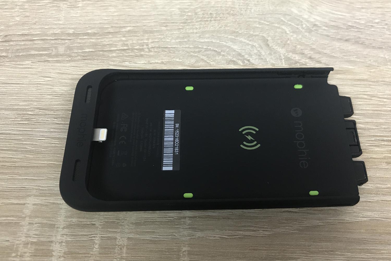 coque batterie mophie test