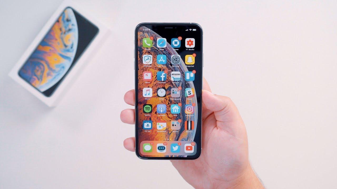 écran iPhone XS max
