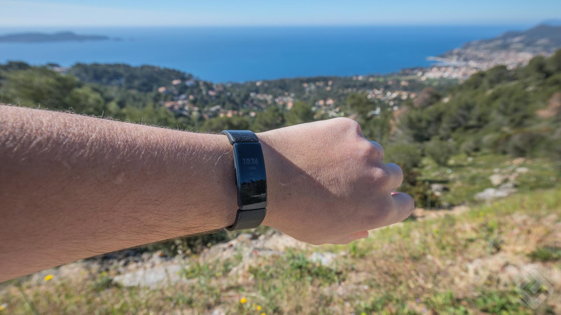 Fitbit InspireHR design