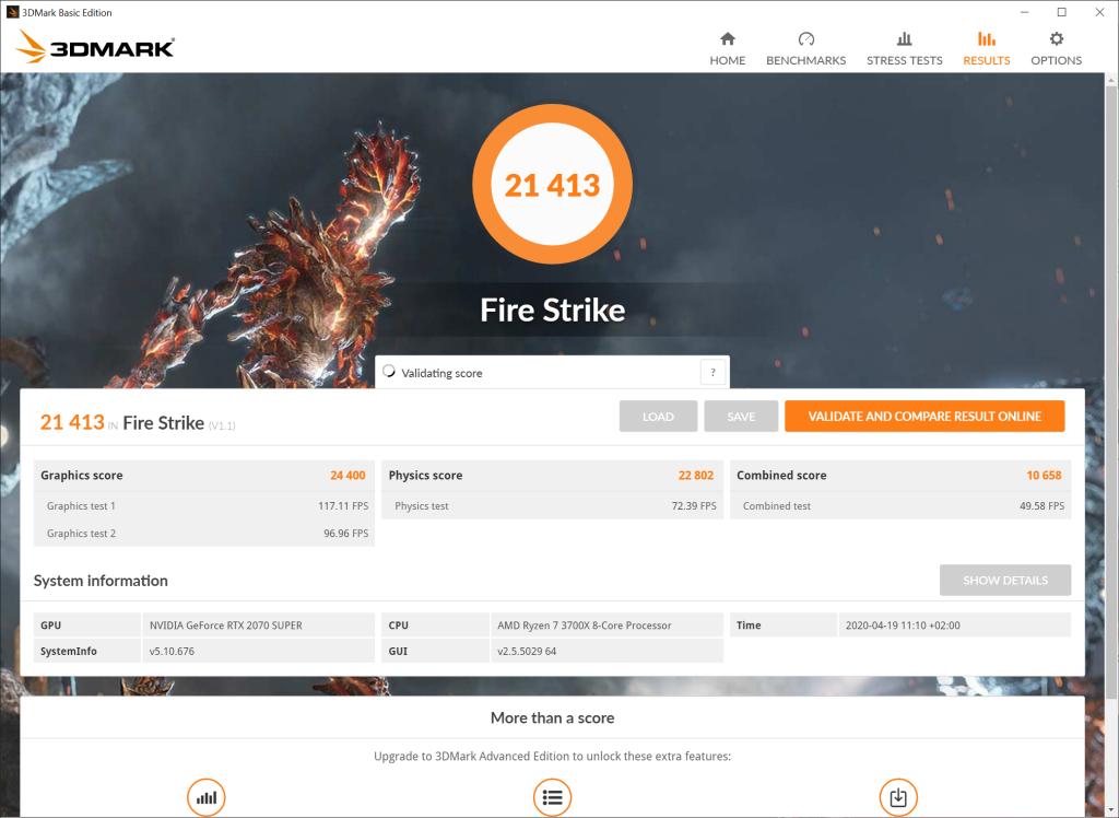 msi rtx 2070 gaming x benchmarks