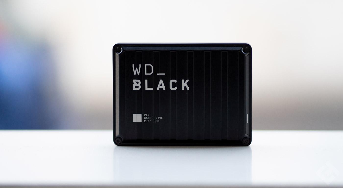 western digital wd black P10 gaming drive test