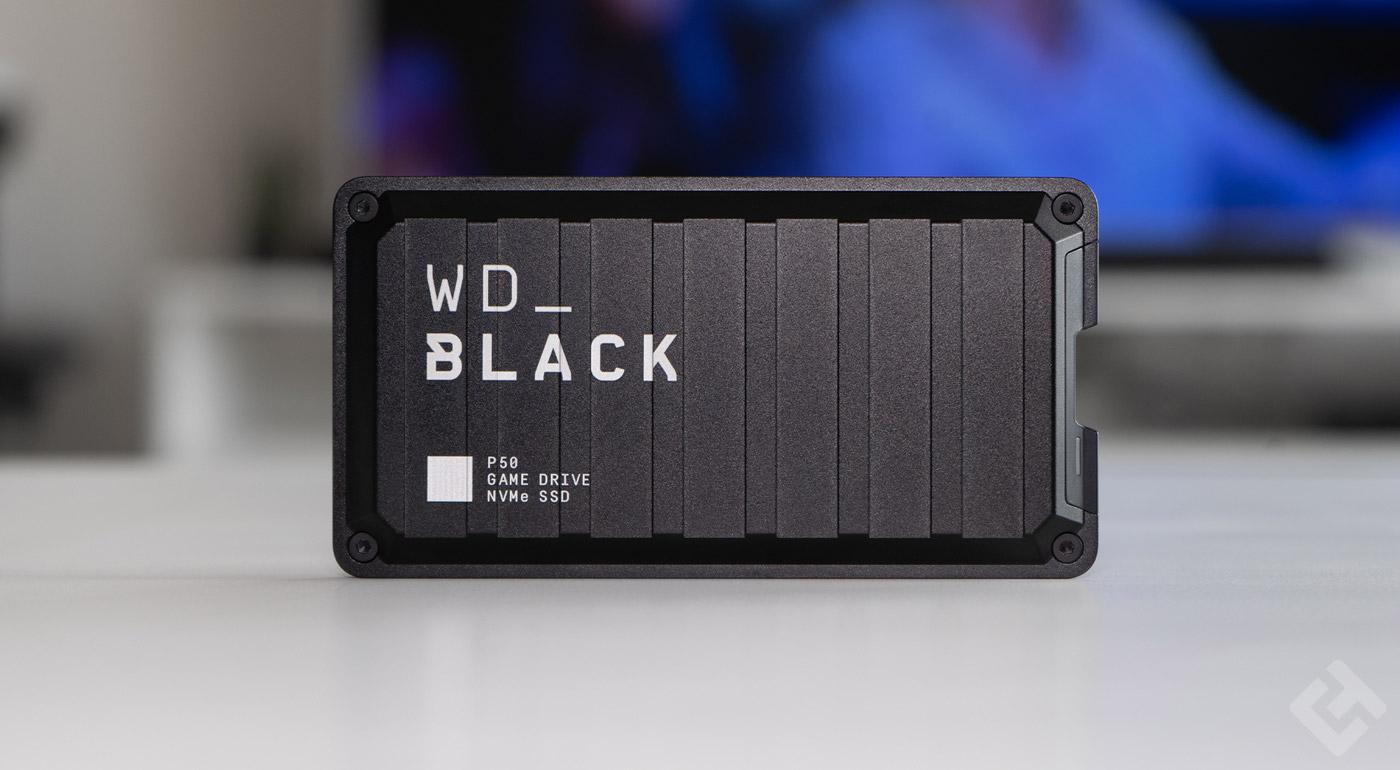 test du wd black P50