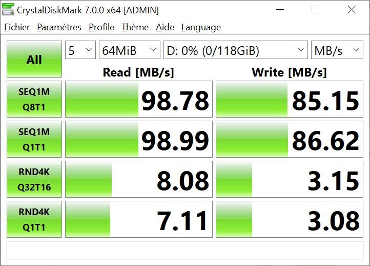 test lexar 1066x micro-sdxc