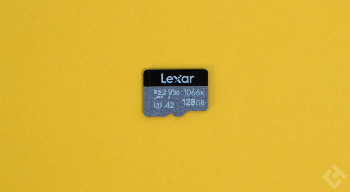 test lexar silver 1066x micro-sdxc