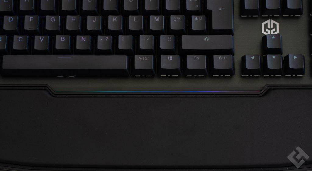 rétro-éclairage du clavier
