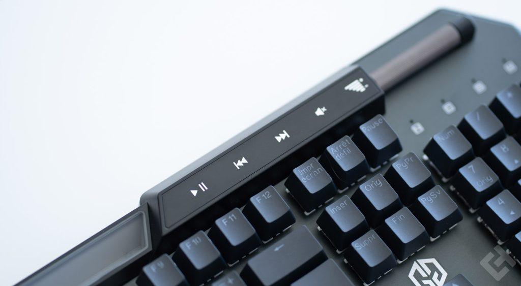 avis sur le clavier champions bane