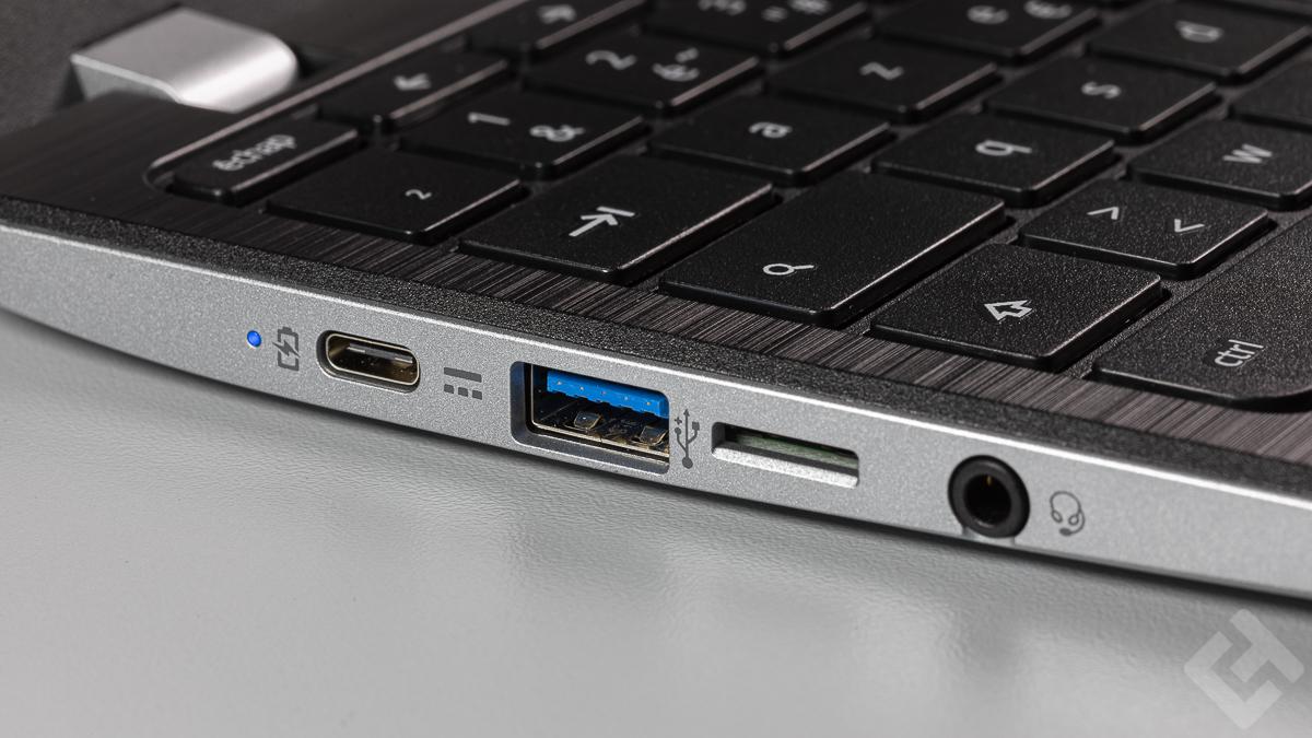 Acer Chromebook 311 - Connectique gauche
