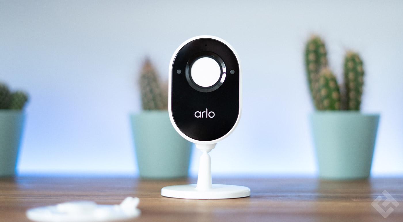 test arlo essential indoor camera