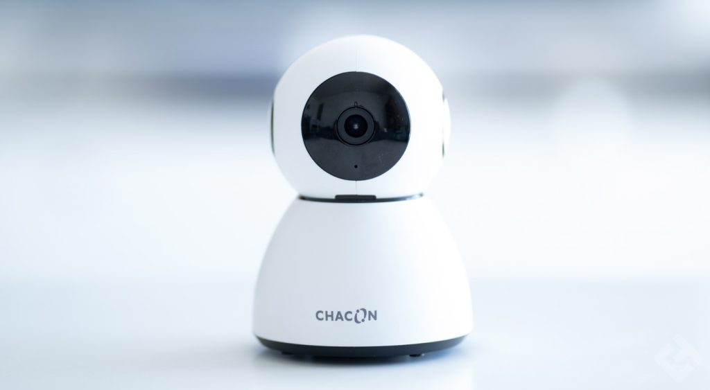 test chacon camera rotating