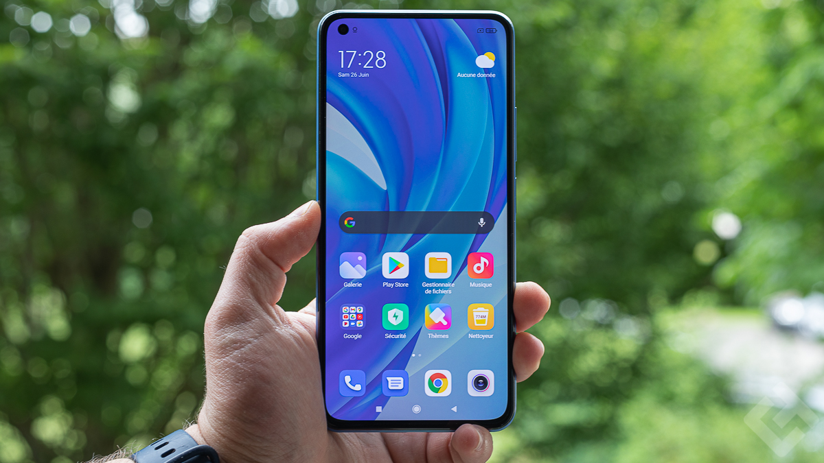 Xiaomi Mi 11 Lite en mains