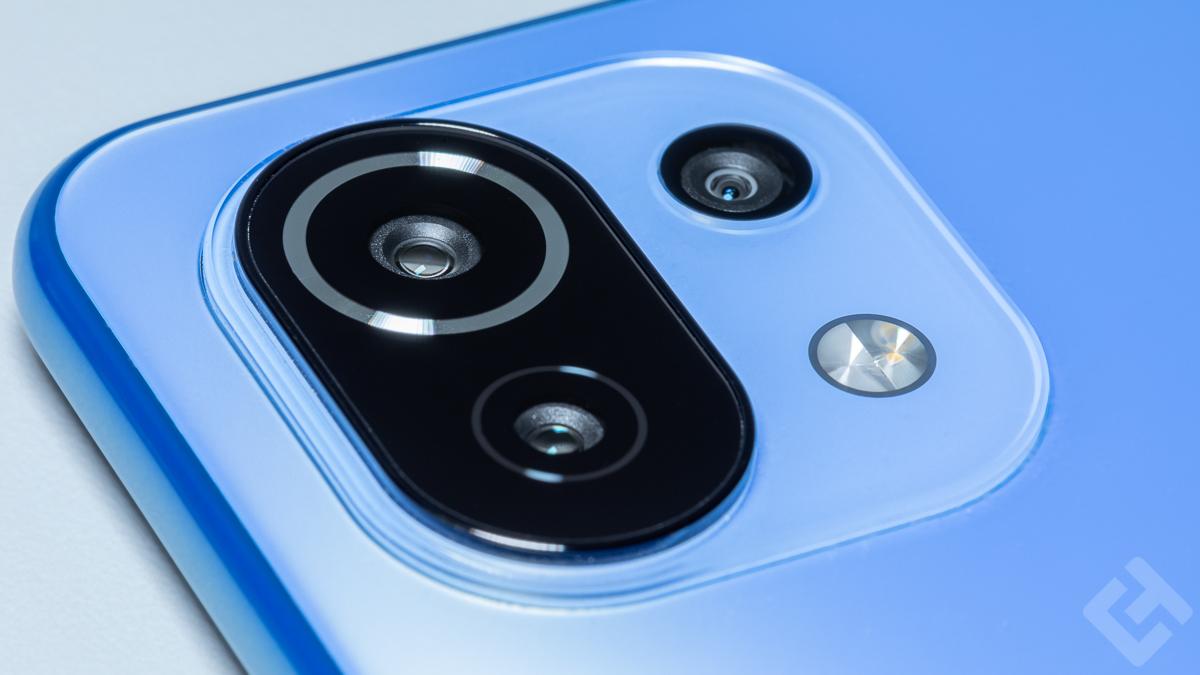 Capteurs photo du Xiaomi Mi 11 Lite