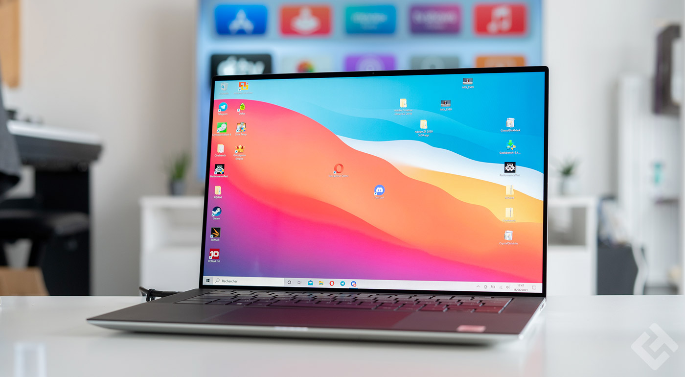 test dell xps 15 2020