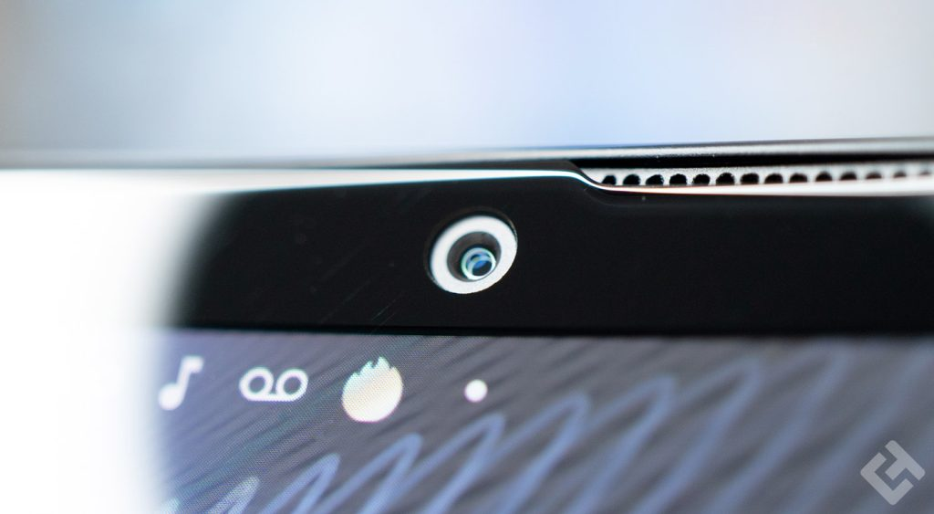 caméra frontale du xperia 10 III