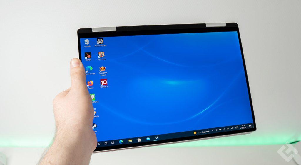 xps 13 9310 en mode tablette