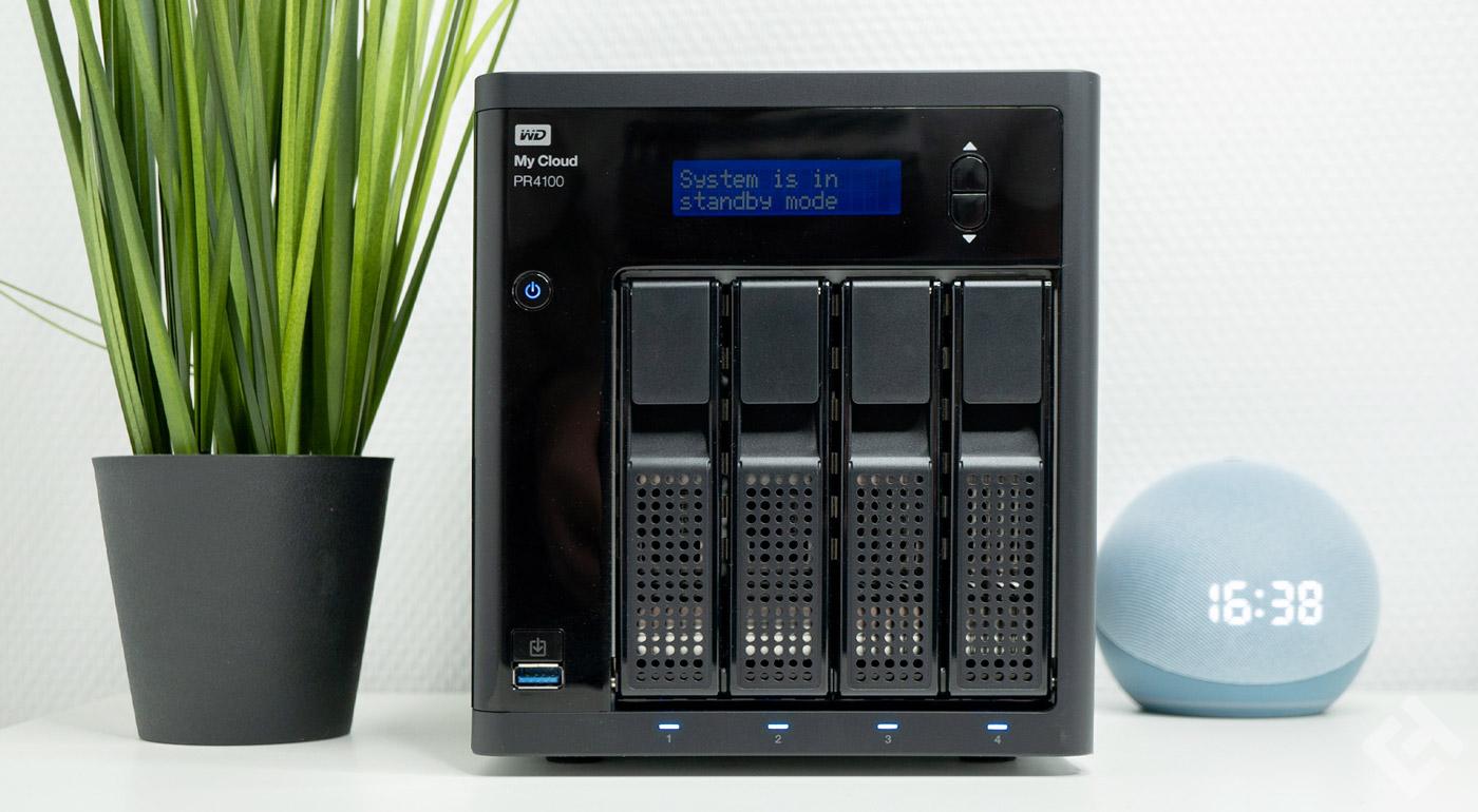 test western digital pr4100